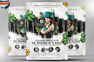 St. Patrick's Day PSD Template 6