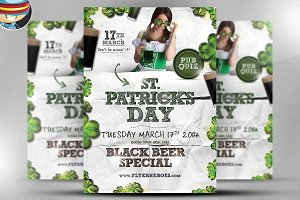 Saint Patrick's Day PSD Flyer 3