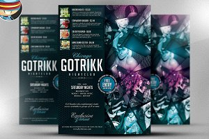 Gotrikk Club Flyer Template