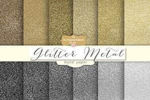 Glitter metallic