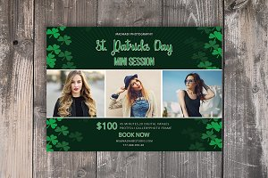 St. Patricks Day Mini Sessions