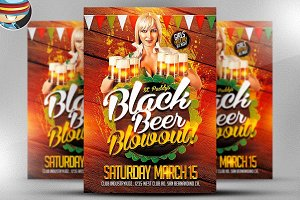 St. Patrick's Day Black Beer Blowout
