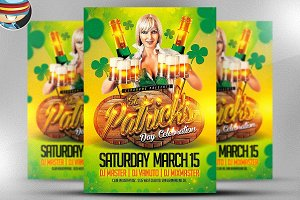 St. Patrick's Day Celebrations Flyer
