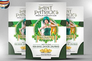 O'Malley's St. Patrick's Special PSD