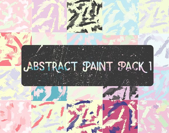 Abstract Paint Pack 1
