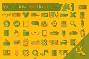73 BUSINESS icons