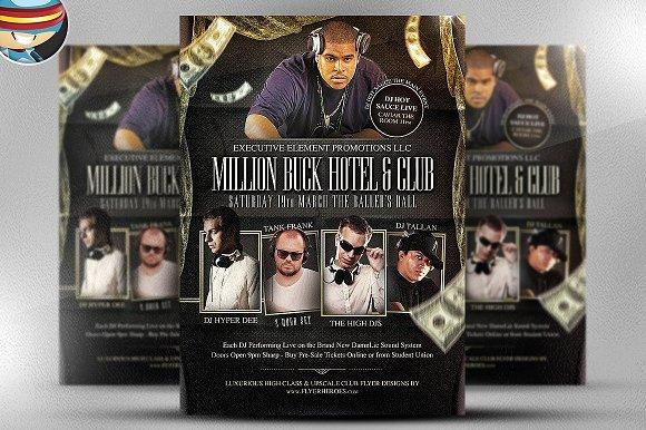 Million Buck Flyer Template