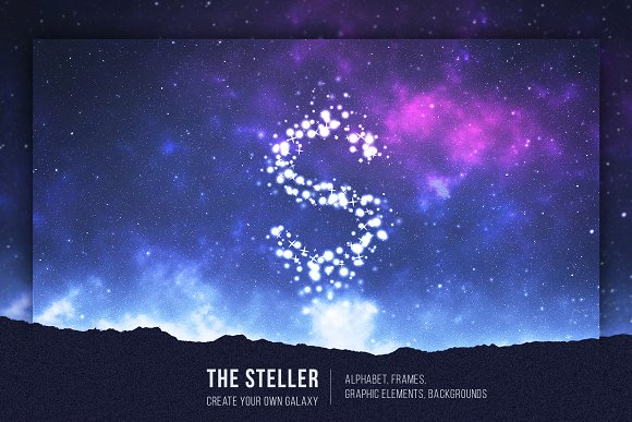 The Steller - Stars Graphic Set in Objects