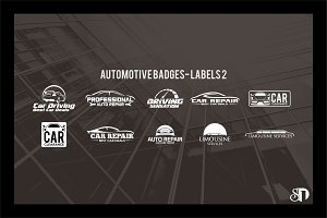 automotive badges and labels vol2
