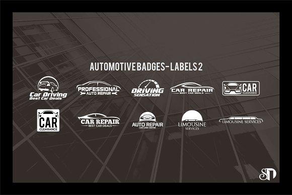 Automotive Badges And Labels Vol2
