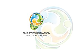 smart foundation – Logo Template