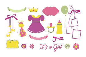 Baby Icons For Girl
