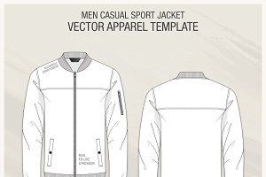 Men Casual Sport Jacket