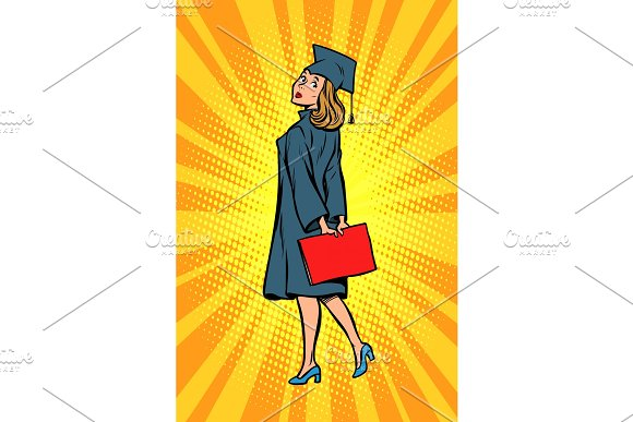 woman graduate of the College or University
