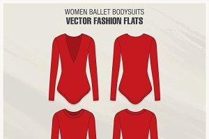 Women Ballet Bodysuits