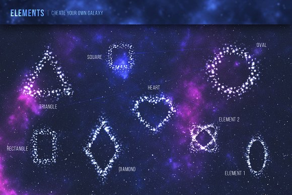 The Steller - Stars Graphic Set in Objects - product preview 4