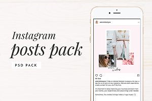 Instagram Posts Pack