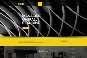 Arcadia Architecture WordPress Theme