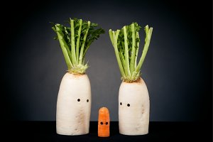 Vegetables With Eyes