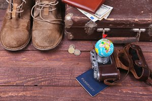 Travel with Vintage accessories.