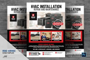 HVAC Services Promotional Flyer