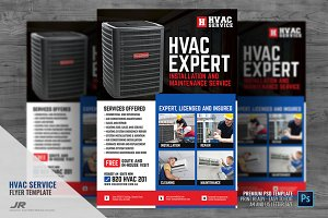 HVAC Expert Services Flyer