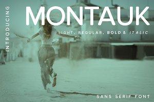 Montauk | Sans Serif Family