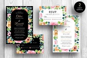 Gardenia - Wedding Invitation & RSVP