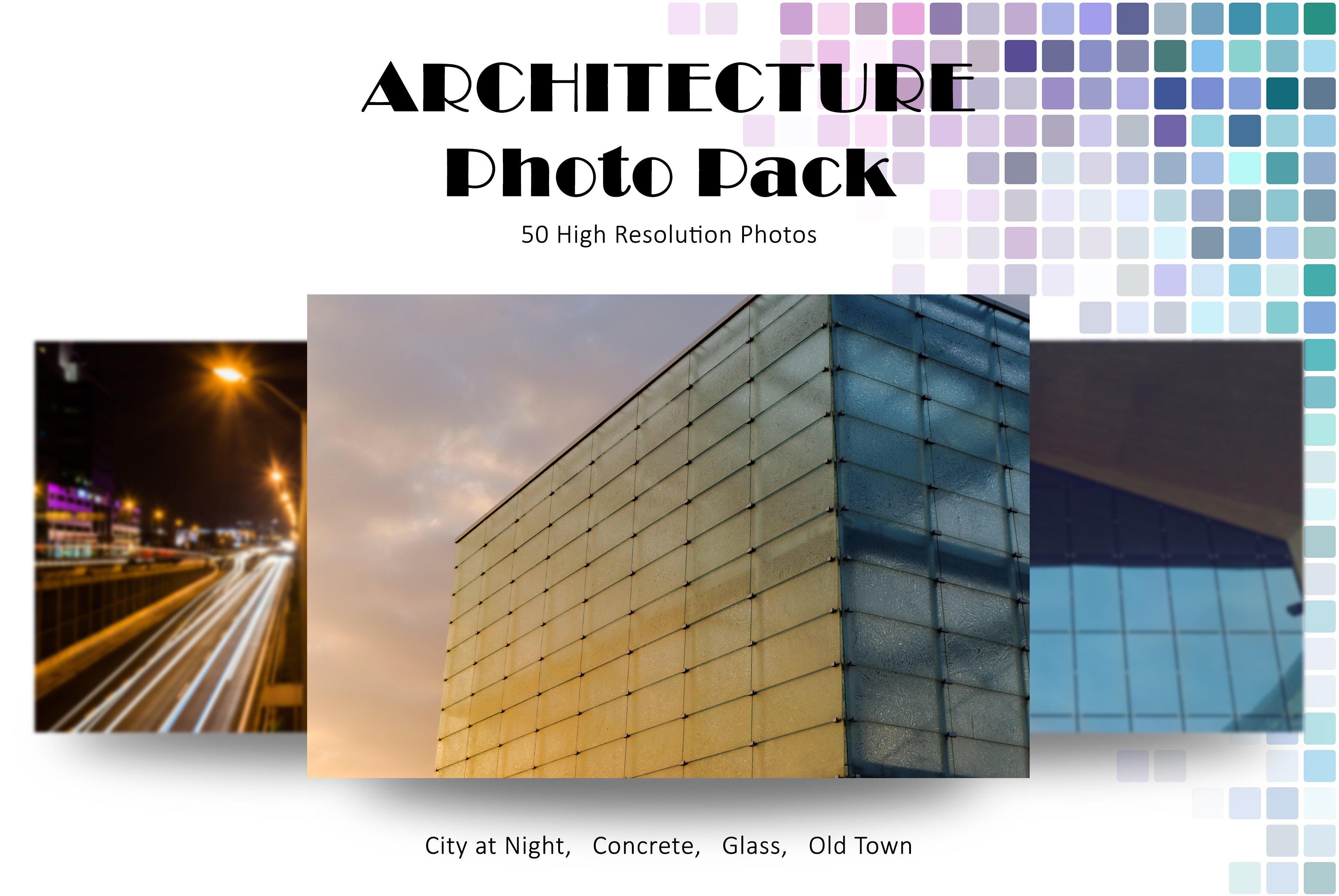 Architecture Photo Pack Web Elements Creative Market