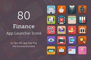 80 Finance App Icons
