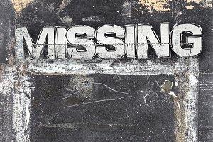 Missing sign