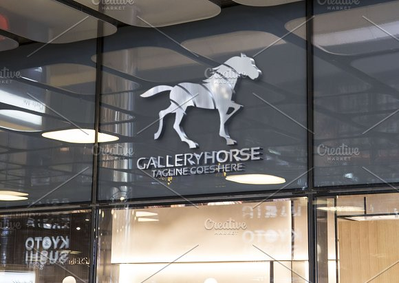 Horse Logo in Logo Templates - product preview 1