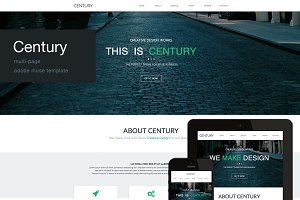 Century - Multi Page Muse Template