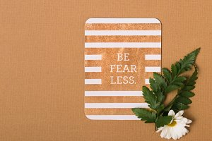 Be Fearless Card