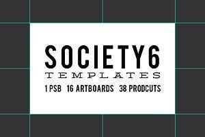 Society6 Product Templates