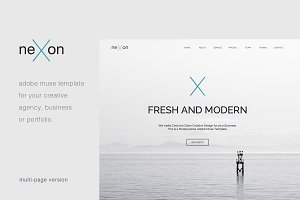 NeXon - Multipage Creative Muse