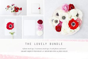 The Lovely Mockup & Photo Bundle