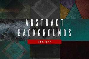10 Abstract Backgrounds - 40% OFF