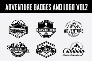 Adventure Badges and Logo Vol2