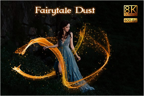 8K Fairytale Dust Overlays