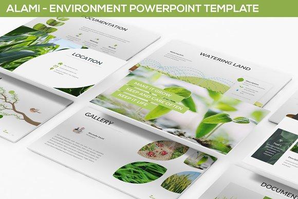 Alami Environment Powerpoint Templ