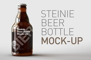 Beer Bottle Mock-Up | Steinie Bottle
