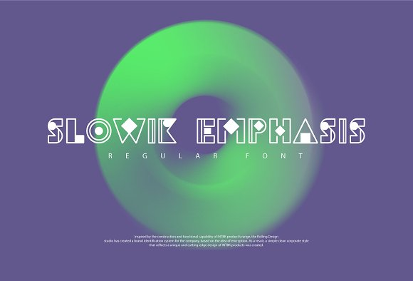 Slowik Emphasis-Regular Font