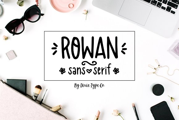 Rowan Sans Serif Font