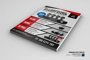 CCTV Promotional Product Flyer