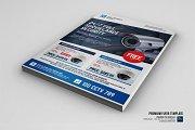 Surveillance Camera Shop Flyer