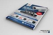 Security Camera CCTV Shop Flyer