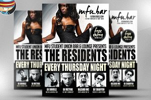 The Residents Flyer Template