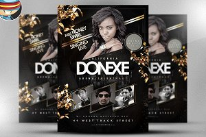 Donexe Flyer Template