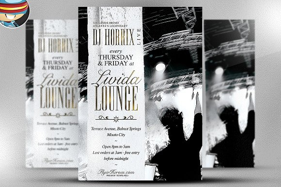 Livida Lounge Flyer Template